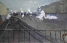 Станция Сен-Лазар, 1885 - Эллё, Поль-Сезар