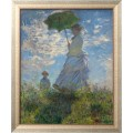 Прогулка, женщина с зонтиком, 1875 - Моне, Клод