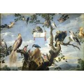 Птичий концерт, 1630 - Спандонк, Корнелис ван