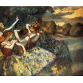 Четыре танцовщицы, 1900 - Дега, Эдгар