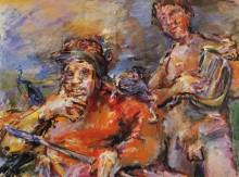 Саул и Давид - Кокошка, Оскар