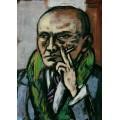 Автопортрет с сигаретой III - Бекман, Макс