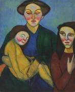 Женщина с детьми - Делоне, Соня