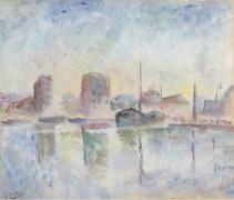 Речной пейзаж, 1934 - Фальк, Роберт