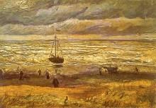 Вид на море в Схевенингене - Гог, Винсент ван