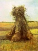 Снопы пшеницы в поле - Гог, Винсент ван