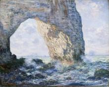 The Manneporte, 1883 - Моне, Клод