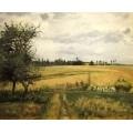 Пейзаж около Понтуаза, 1872 - Писсарро, Камиль
