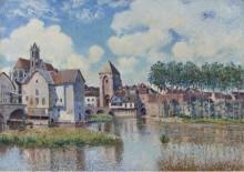 Море-сюр-Луан, 1891 - Сислей, Альфред