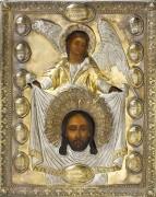 Нерукотворный образ в серебряном окладе (XIX век)