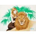 Блондинка со львом - Сарноф, Артур
