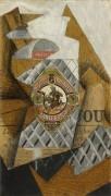 Бутылка анисовки - Грис, Хуан