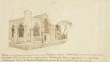 Церковь Остин Фрайарс, Лондон (Austin Friars Church, London), 1873-74 - Гог, Винсент ван