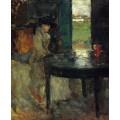 Ожидание, 1882 J - Энсор, Джеймс