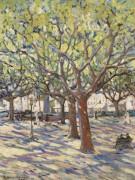 Вид на Сан-Тропе, 1911 - Бастьен, Альфред