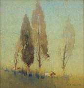 Деревья на вершине холма - Хайлдер, Джесси