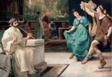 Римский танец - Альма-Тадема, Лоуренс