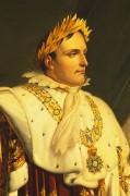 """Портрет Наполеона I в его одеяния коронации"""" -  Жироде,Энн Луис де"""