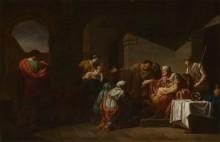 Велизарий и  гостеприимный крестьянин - Пейрон, Жан-Франсуа-Пьер