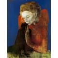 Женщина с вороной, 1904 - Пикассо, Пабло