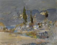 Крымский пейзаж, 1912 - Коровин, Константин Алексеевич