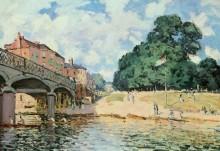 Мост в Хэмптон-Корте - Сислей, Альфред
