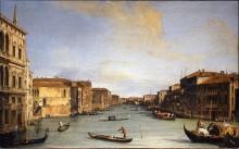 Вид на Большой канал, Венеция - Каналетто (Джованни Антонио Каналь)
