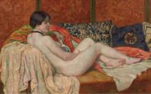 Отдыхающая обнаженная, 1914 - Рейссельберге, Тео ван