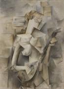 Девушка с мандолиной - Пикассо, Пабло