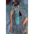 Портрет жены художника - Матисс, Анри