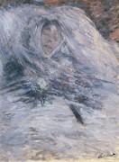 Камилла Моне на смертном одре, 1879 - Моне, Клод