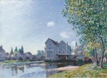 Мост Море, утренний эффект, 1891 - Сислей, Альфред