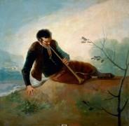Пастух, играющий на дудке - Гойя, Франсиско Хосе де