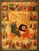 Святитель Иоанн Богослов на острове Патмос с житием, ок.1500, 93х71