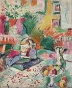 Комната с читающей девушкой - Матисс, Анри