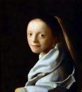 Портрет молодой девушки - Вермеер, Ян