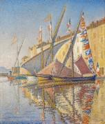 Порт в Сен-Тропе - Синьяк, Поль