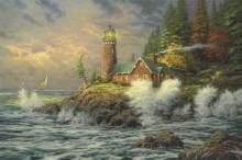 Храбрость (Бурное море с парусником) - Кинкейд, Томас