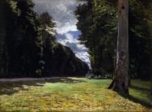 Пави де Шайи в лесу Фонтенбло - Моне, Клод