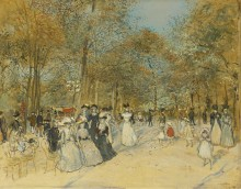 Елисейские поля - Рафаэлли, Жан Франсуа