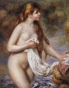 Длинноволосая купальщица - Ренуар, Пьер Огюст