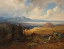 Пейзаж близ Кура - Ланге, Юлиус