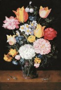 Цветочный натюрморт - Брейгель, Ян (младший)