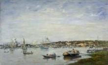 Порт в Бордо - Буден, Эжен