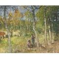 Деревенский пейзаж (Country Scene) - Монтезин, Пьер Эжен