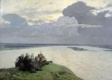 Над вечным покоем. 1894 - Левитан, Исаак Ильич
