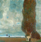 Большой тополь II - Климт, Густав
