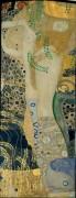 Водяные змеи II - Климт, Густав