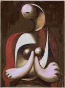 Женщина в красном кресле - Пикассо, Пабло