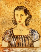 Портрет женщины - Кало, Фрида